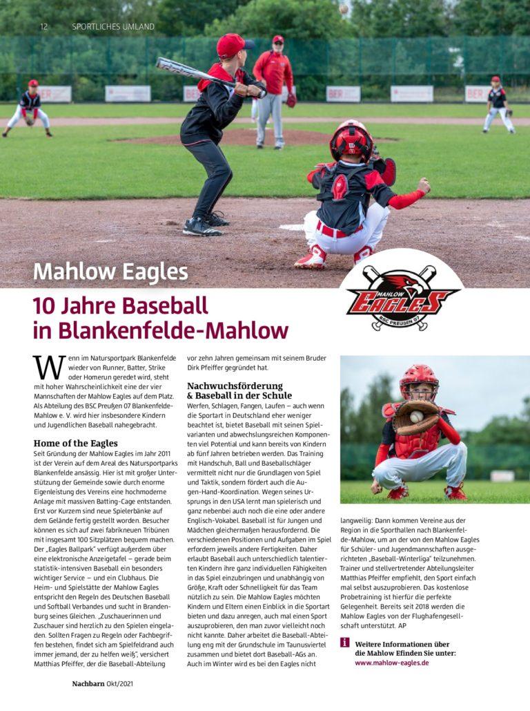 Mahlow Eagles @BER-Magazin (2)